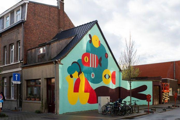 Walls of Boho in de Kroonstraat 110 Borgerhout.