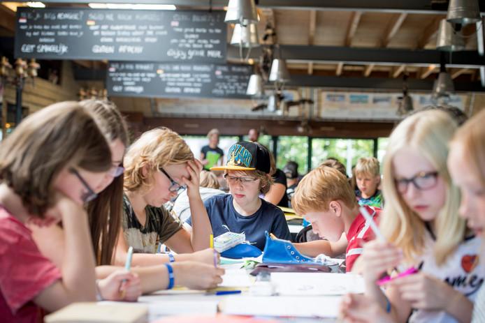 Een wiskundekamp bij Summercamp Heino.