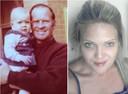Jodi met haar (groot)vader.
