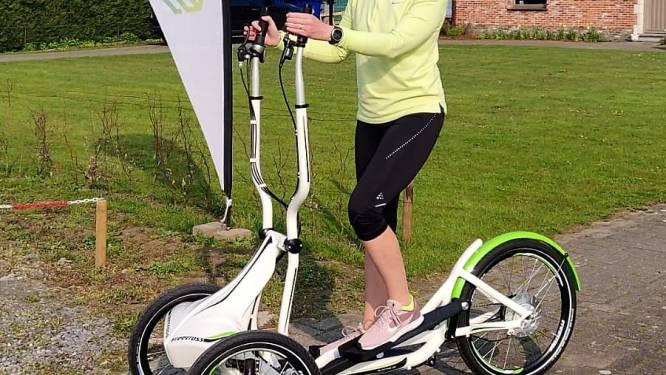 """""""Fitnessen én fietsen in de buitenlucht"""": Leen van SportQube breekt lans voor loopfietsen"""
