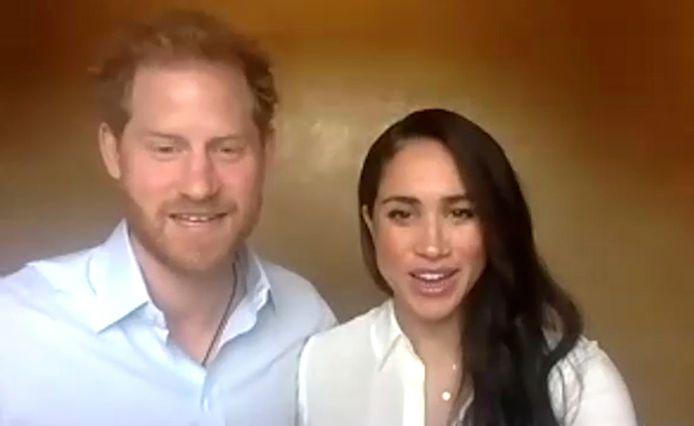Le couple est intervenu dans une réunion vidéo organisée par l'association Queen's Commonwealth Trust's.
