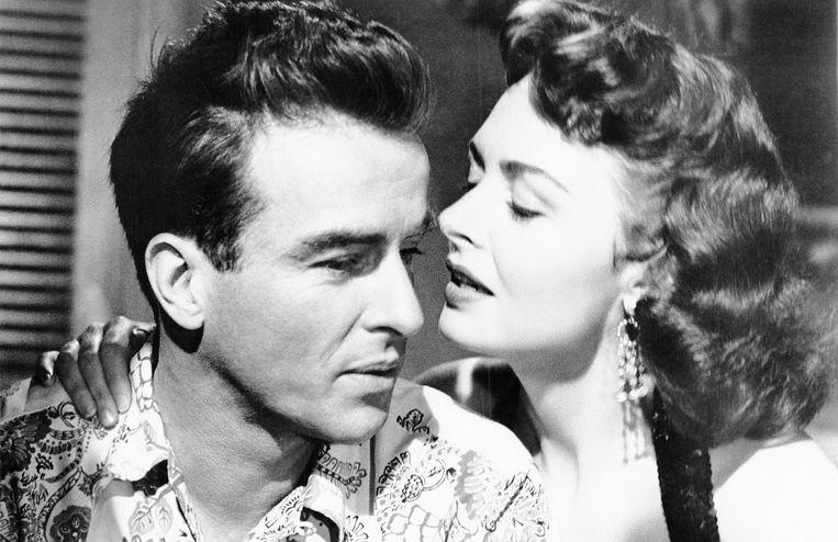 Montgomery Clift en Donna Reed in From Here to Eternity van Fred Zinnemann. Beeld