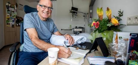 Gemist? Cultheld Lange Toepie schittert als hij twittert en Ron (74) schrijft boek over zijn herseninfarct