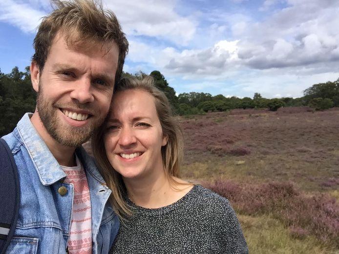 Daan Sinkelda en Nelleke Kranenburg, afgehaakte zoekers naar een koophuis in Amersfoort.