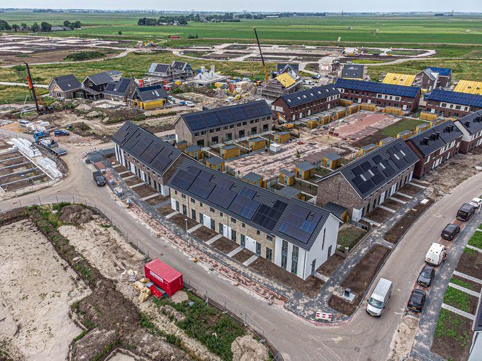 Gemeenten maken soms miljoenen winst op de ontwikkeling van bouwgrond, zoals hier in Zwolle.