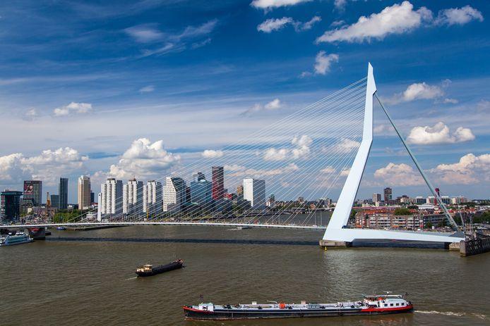 Rotterdam is een van de plaatsen waar de inkomens gemiddeld het laagst zijn.