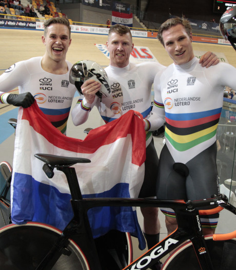 Nijverdaller Hoogland prolongeert Europese titel met teamsprinters