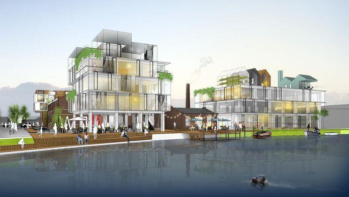 Zo moet De War er in 2021 uit komen te zien, nu Rovase met haar plan aan de gang mag.