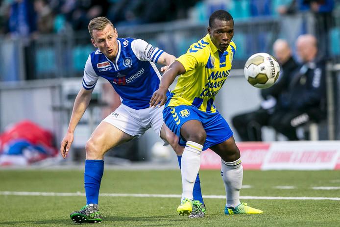 Moussa Sanoh in het competitieduel vorig seizoen tegen FC Den Bosch.