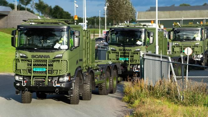 550 nieuwe vrachtwagens Nederlandse Defensie zijn te hoog, mogen weg niet op