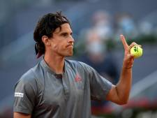 Succesvolle rentree Thiem in Madrid, Mertens verrast Halep