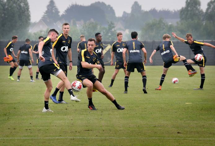 NAC startte woensdag de voorbereiding op het seizoen 2019-2020.