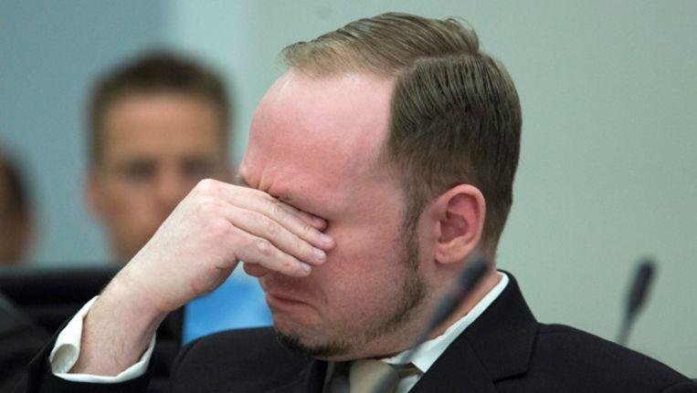 Anders Behring Breivik. Beeld FOTO EPA