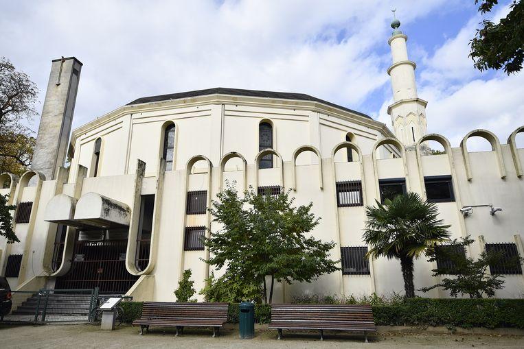 De Grote Moskee in Brussel. Beeld BELGA
