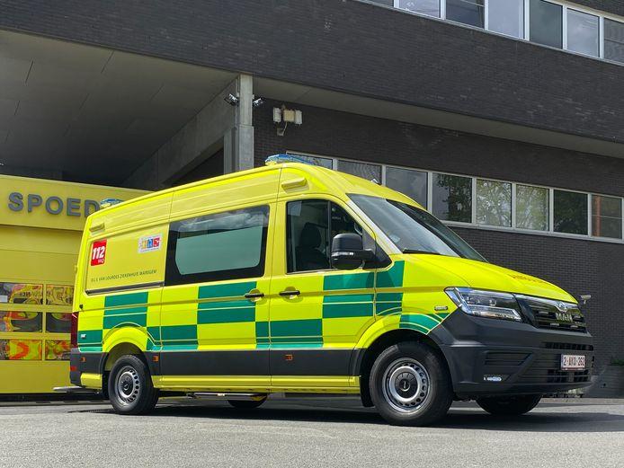Deze nieuwe ambulance kan zelfs uitgestuurd worden als buffer wanneer een MUG niet beschikbaar is.