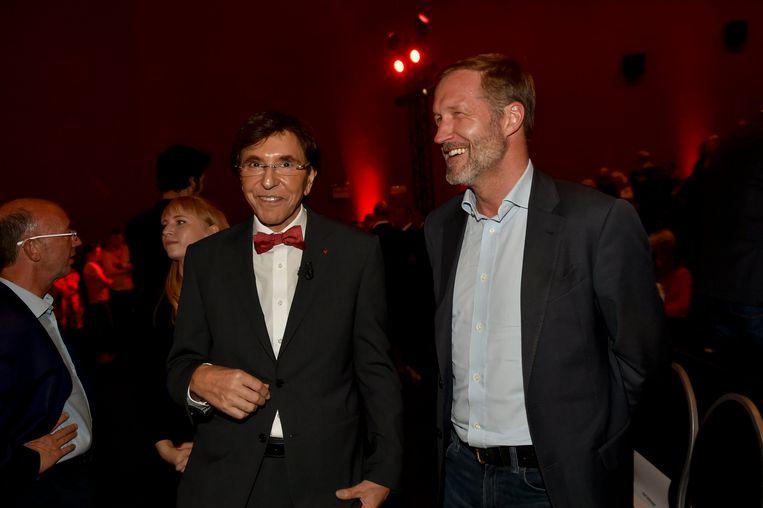 Elio Di Rupo en Paul Magnette. Beeld Photo News