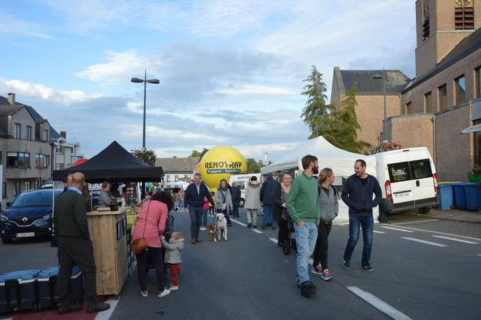 De avondmarkt in Kerksken tijdens de laatste editie, twee jaar geleden.