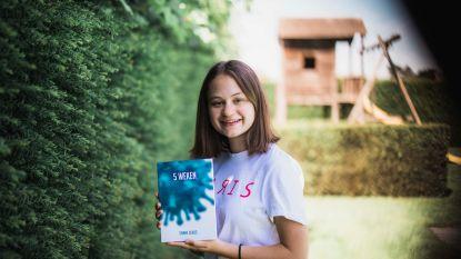 """Sanne (16) schrijft tijdens lockdown haar eerste boek: """"Het ideale moment om mijn droom waar te maken"""""""