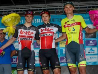 "Nathan Vandepitte sluit Omloop als derde af: ""Gemikt op sprint"""
