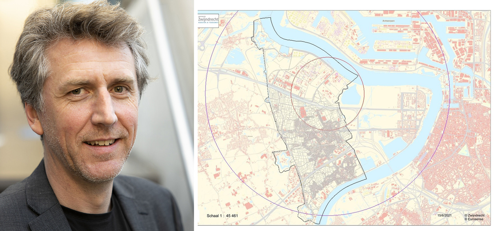 Karl Vrancken coördineert de aanpak van de PFOS-vervuiling.