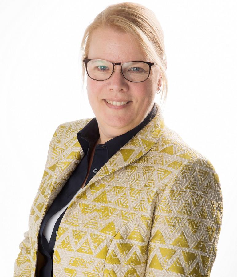 Anita Vlam, de Woudenbergse wethouder Financiën.