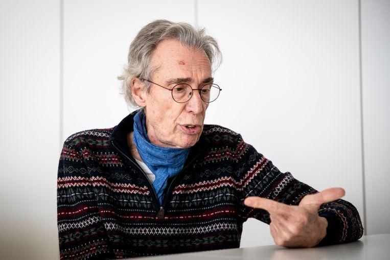 Topdokter en medeoprichter van de Belgische tak van Artsen Zonder Grenze Réginald Moreels.  Beeld Jan De Meuleneir / Photo News