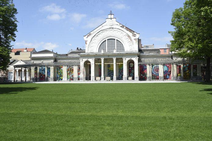 Het Harmoniepark in Antwerpen.