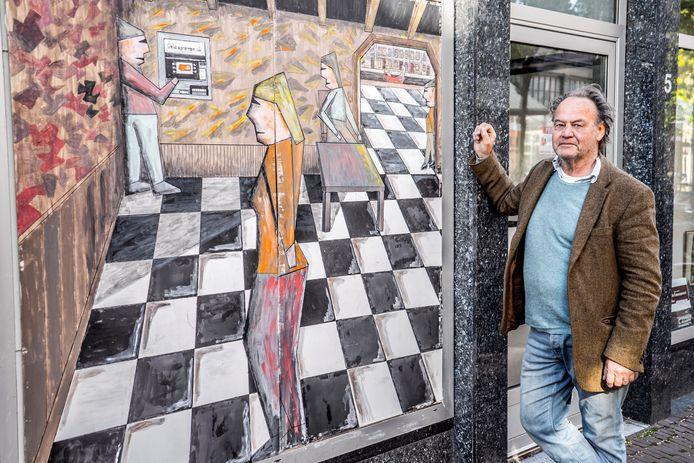 Kunstenaar Tijn Noordenbos wil jongeren die zich eenzaam voelen met kunst weer op het juiste spoor zetten.