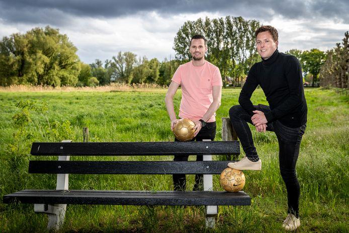 Johan van der Pas (rechts) en John Egelmeers.