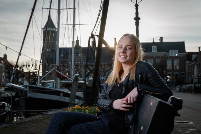 Voor Kelly is de haven in Willemstad hét kenmerk van haar woonplaats.