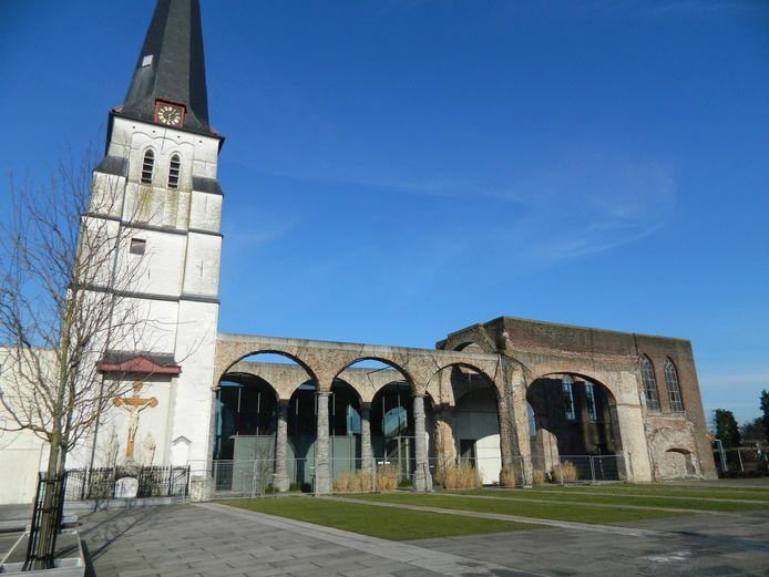 De kerk van Waarschoot.