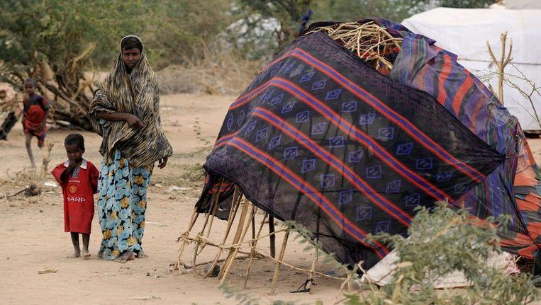 Dabaab, in Kenia, is het grootste vluchtelingenkamp ter wereld en herbergt voornamelijk Somaliërs. Beeld EPA