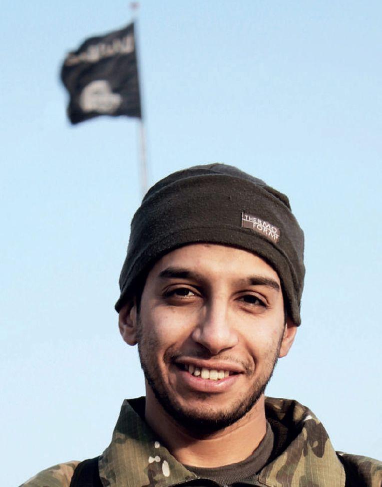 Abdelhamid Abaaoud (foto) en Salah Abdeslam waren jeugdvrienden. Beeld epa