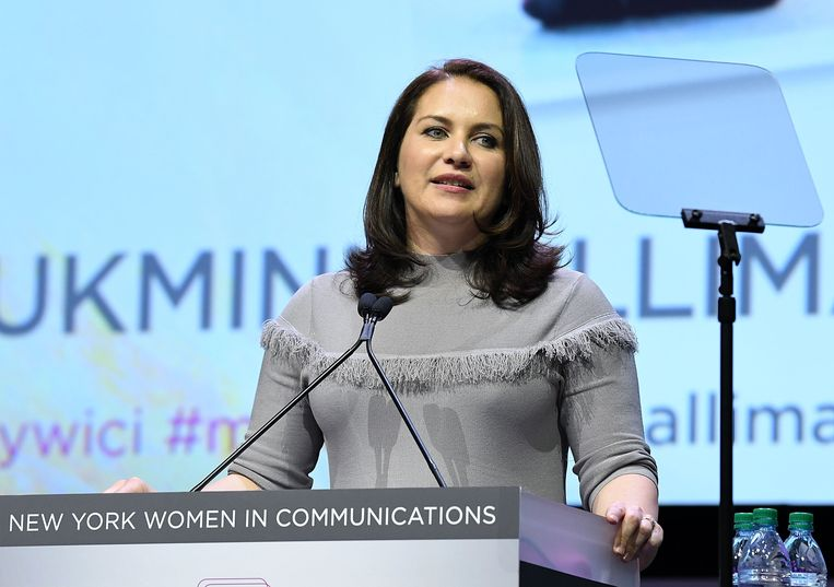 Rukmini Callimachi in 2017. Beeld Getty Images