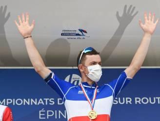 KOERS KORT. Cavagna Frans kampioen op de weg, Roosen volgt Van der Poel op in Nederland, Schachmann pakt tweede Duitse titel