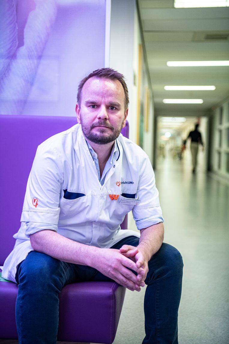 Intensivist Iwan van der Horst Beeld Koen Verheijden