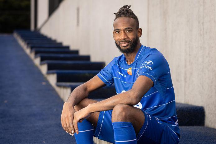 Ilombe Mboyo is sinds dit seizoen aan de slag bij AA Gent