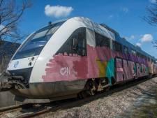 Treinen in Marienberg ondergespoten en beklad