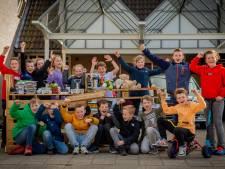 Winssense kinderen zetten zich in voor KiKa, opbrengst: 400 euro