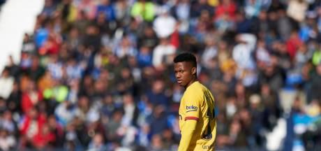 Afkoopsom Barça-talent Fati (17) nu 400 miljoen
