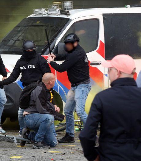Twee verdachten van rellen na NAC-NEC melden zich na nieuwe oproep van politie