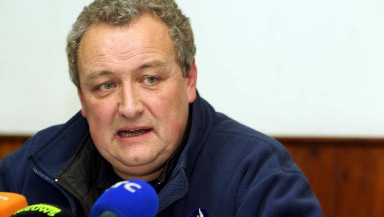 Hoofd van de Cel Vermiste Personen, Alain Remue.