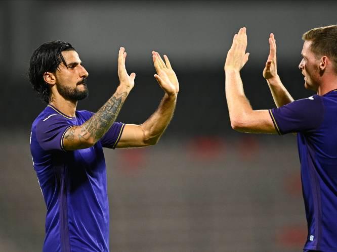 Met dank aan Refaelov: Anderlecht boekt ruime zege in Albanië en staat met anderhalf been in laatste voorronde Conference League