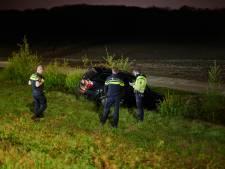 Spookrijder belandt in de sloot bij achtervolging A58, Fransman (36) aangehouden