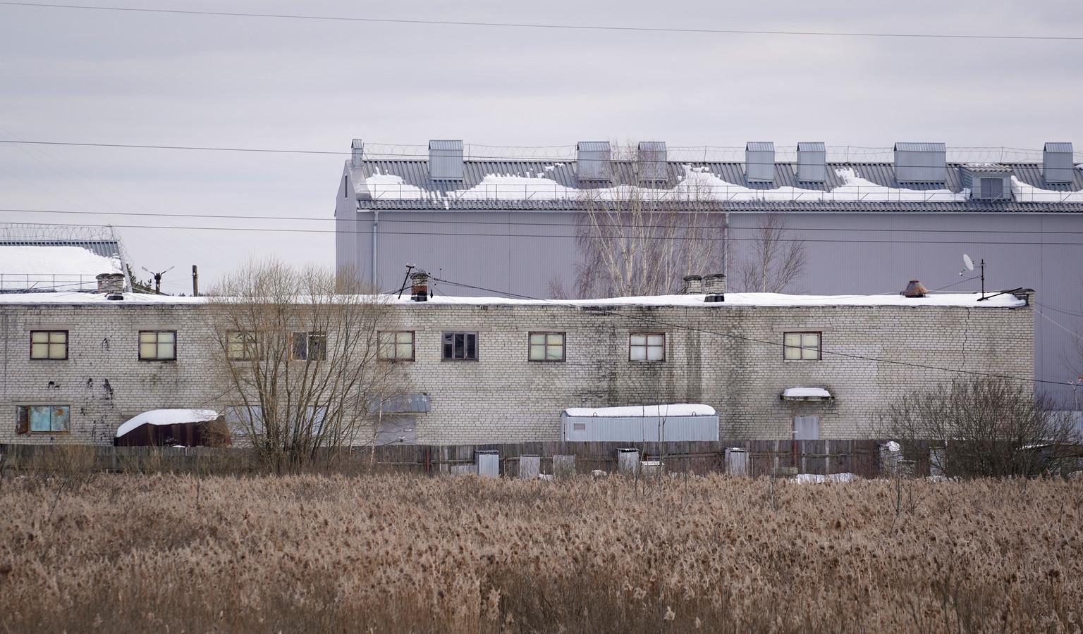 Strafkolonie 2 bij de stad Pokrov waar de Kremlin-criticus zijn straf uitzit.