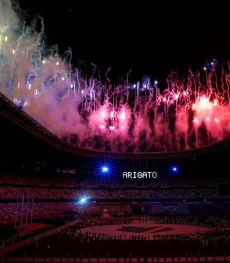 L'impressionnant feu d'artifice de la cérémonie de clôture des JO de Tokyo