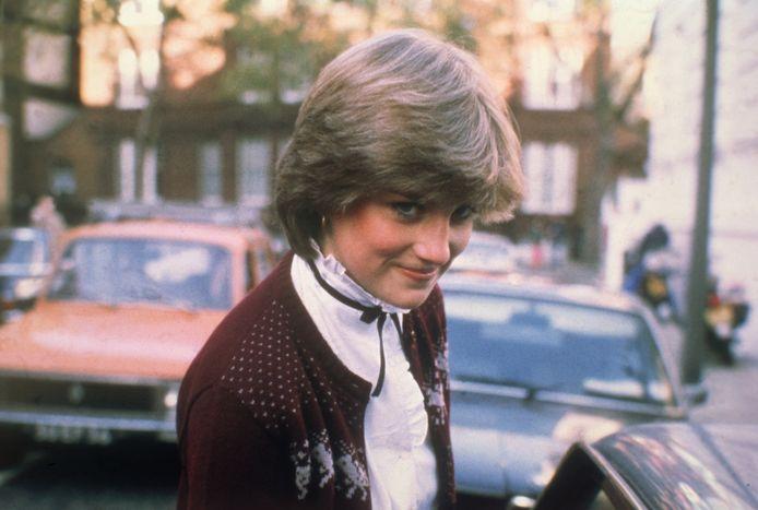 Prinses Diana verlaat haar huis in 1980