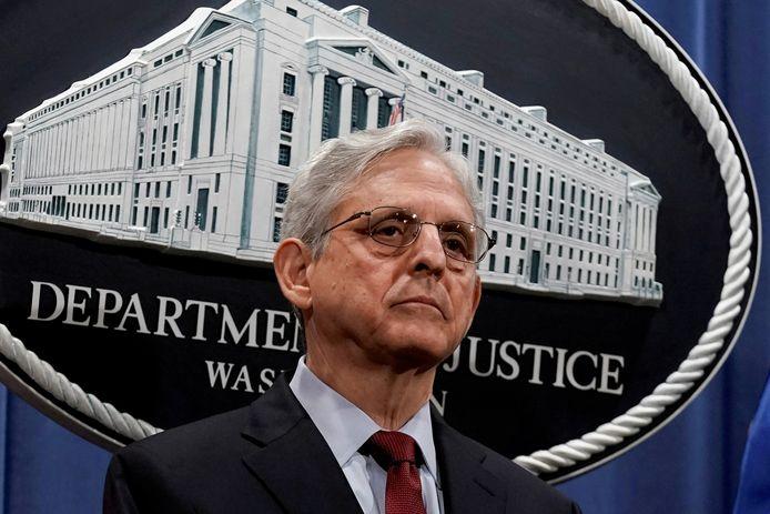 Merrick Garland, ministre américain de la Justice.
