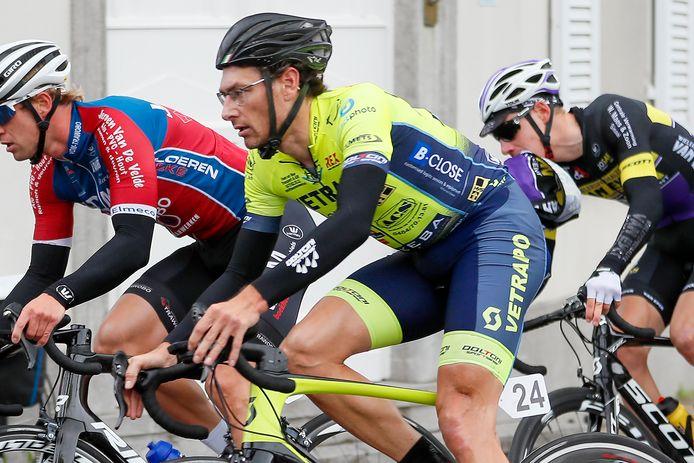 Voor Kristof Wielfaert is fietsen meer dan enkel maar hard op de pedalen trappen.