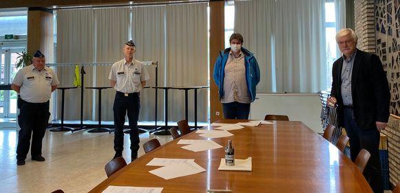 Het protocol voor het BIN Mikman werd officieel ondertekend door burgemeester Rob Mennes, korpschef Politiezone Rupel Peter Muyshondt en coördinator Johan Ramael.